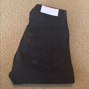 Shop RE/DONE straight leg Levi's size 26